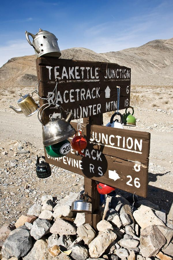 ✮ Teakettle Junction - Death Valley National Park - California