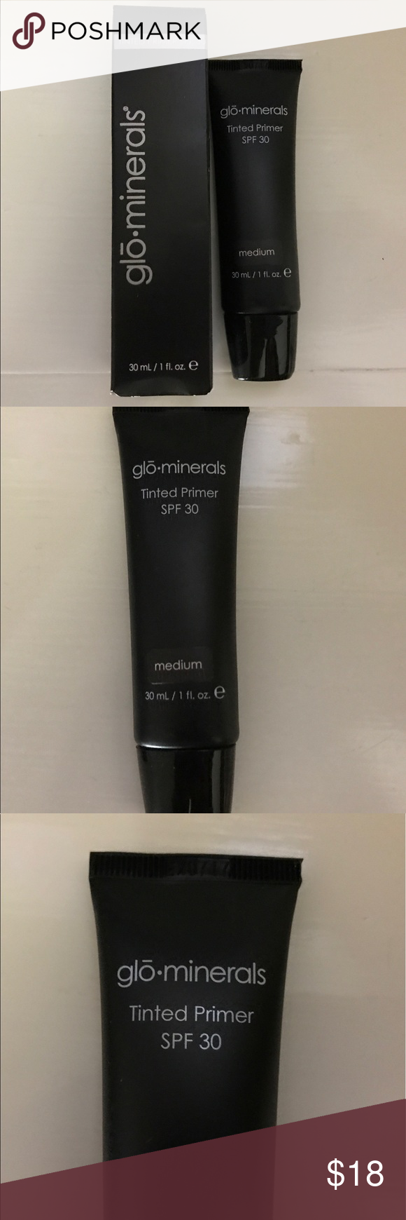 Glo•minerals SPF 30 Tinted Medium Face Primer Brand new in