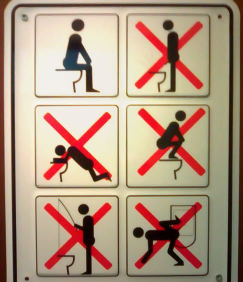 Bathroom Signs Japan japanese-toilet-signs-and-rules-in-japan-no-standi1 | funny