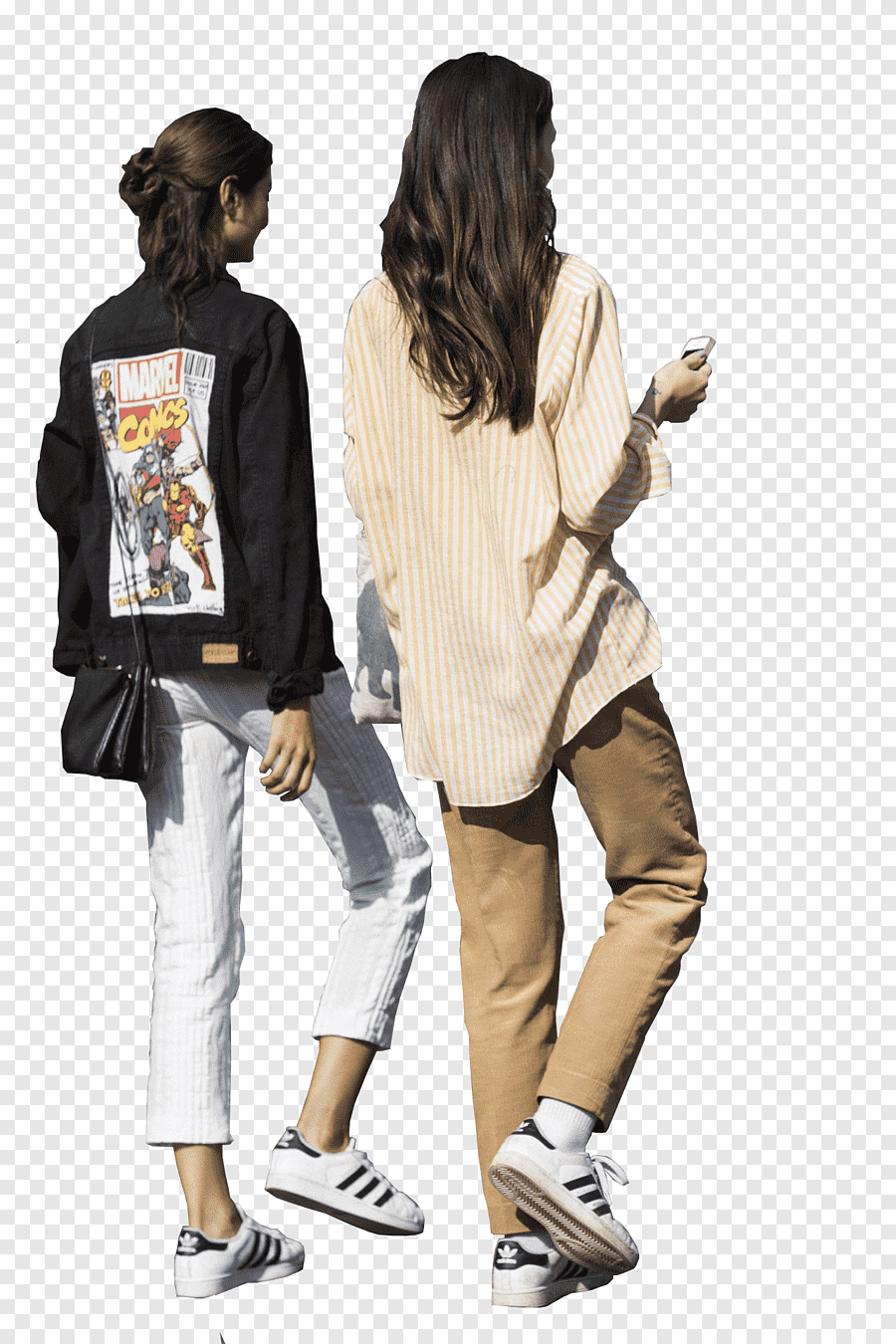 Two Woman Walking Walking Rendering Architecture Sitting Man Miscellaneous Tshirt Png People Png Render People People Walking Png