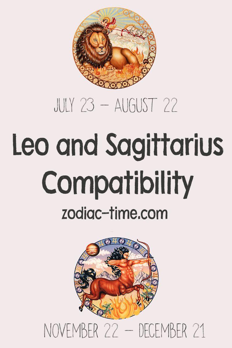 Sagittarius and Leo Compatibility 43