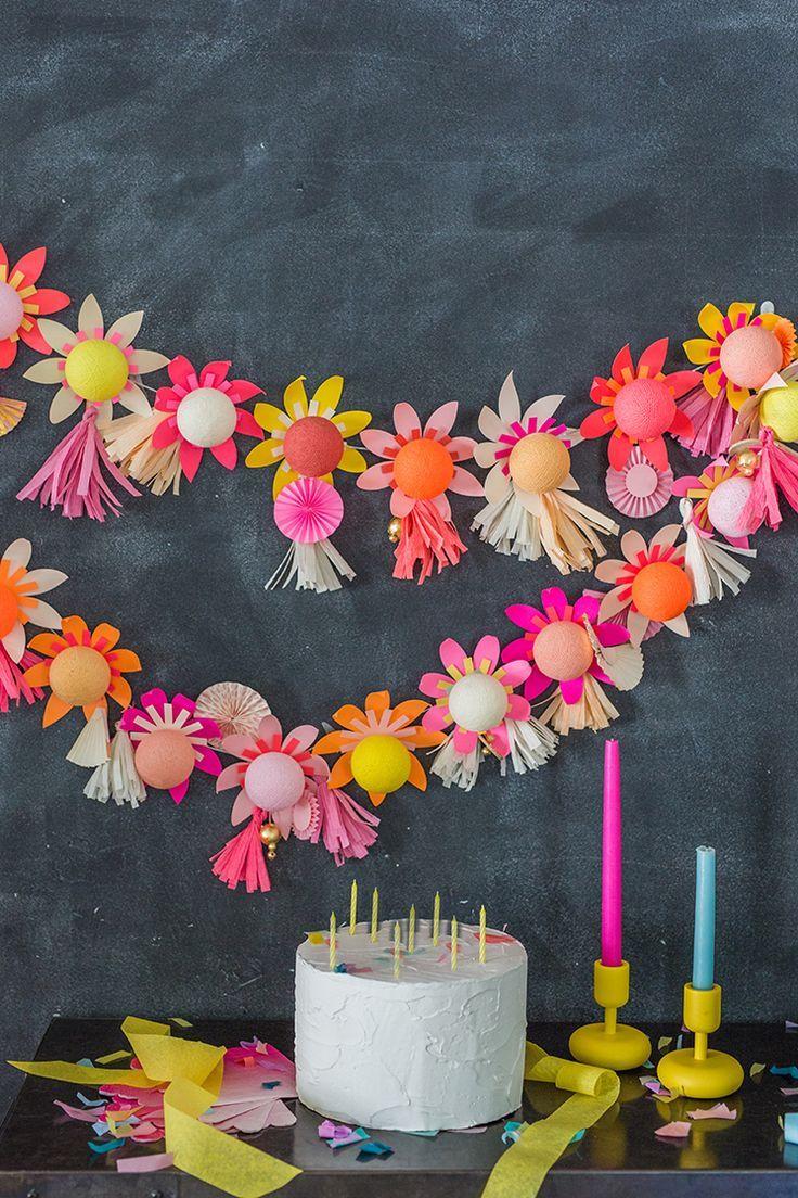 Diy flower string lights - Bright Lab Lights Diy