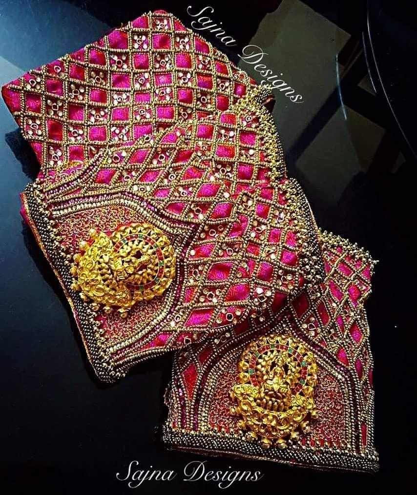 562ec640bde439 Sajna Bridal Wear Designer. Contact : 090948 71467. | aari ...
