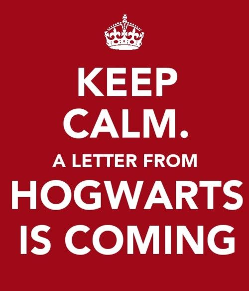 Would be so cute to write your kids a letter of acceptance into the Hogwarts school of Witchcraft and Wizardry. Then have a HP movie marathon. Great holiday treat for the kids!