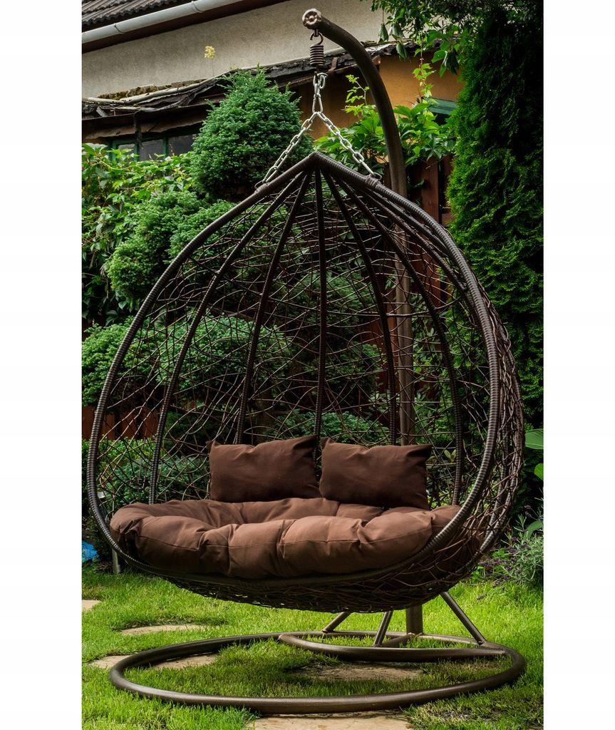 Fotel Bujany Ogrodowy Kosz Wiszacy Hustawka Xxl 7446432799 Oficjalne Archiwum Allegro Outdoor Bed Decor Hanging Chair