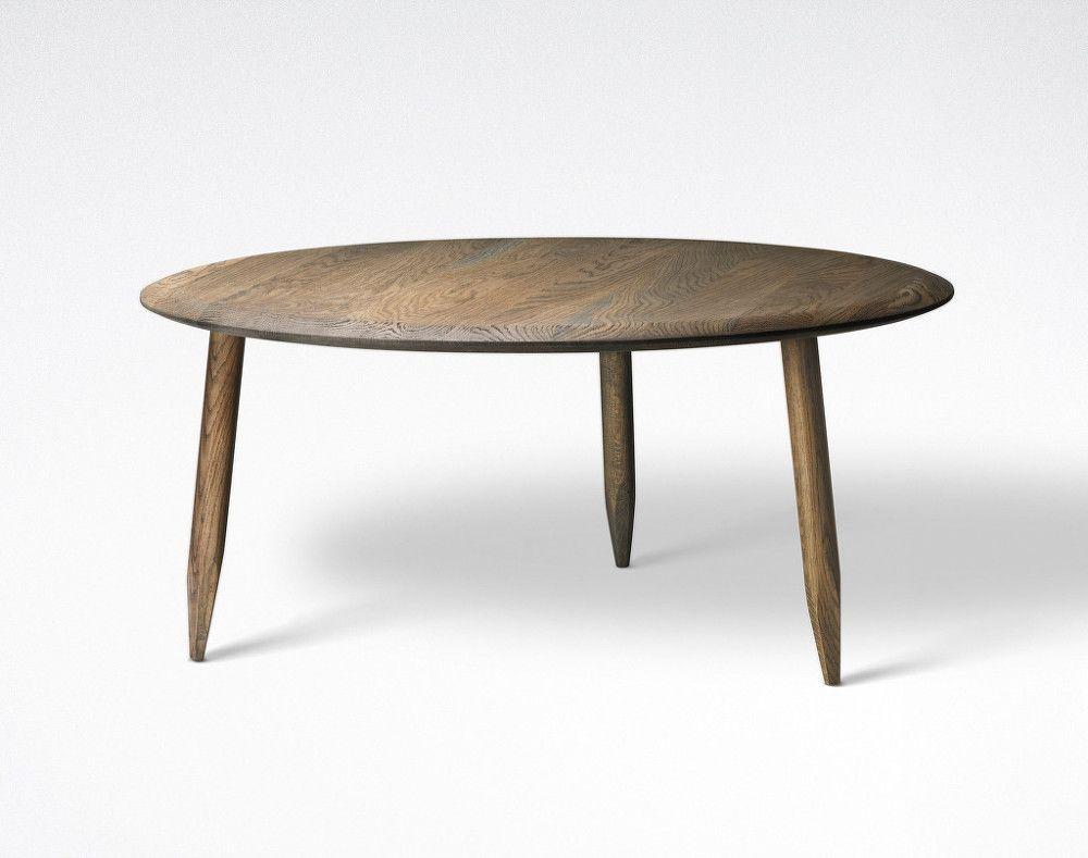 Hoof Lounge Table SW2 kouřově olejovan½ dub