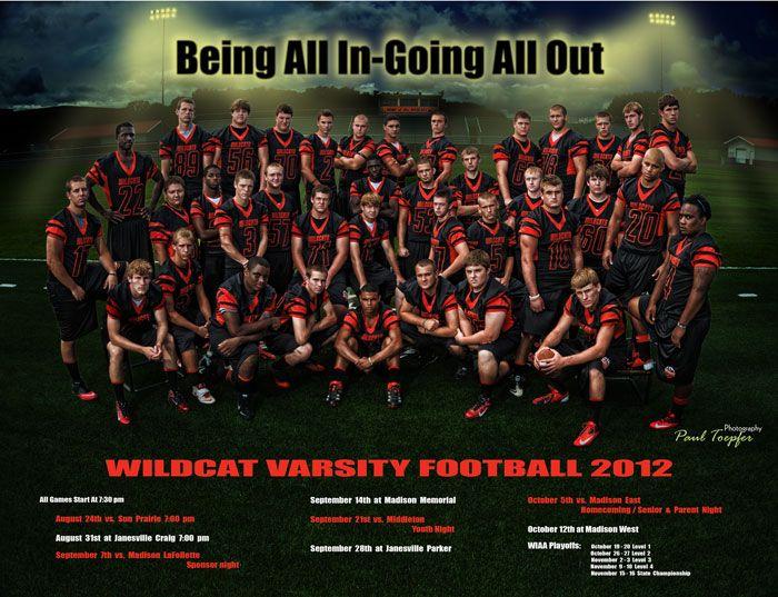 Vahs Varsity Football Poster Senior Football Posters Football Team Pictures Football Pictures