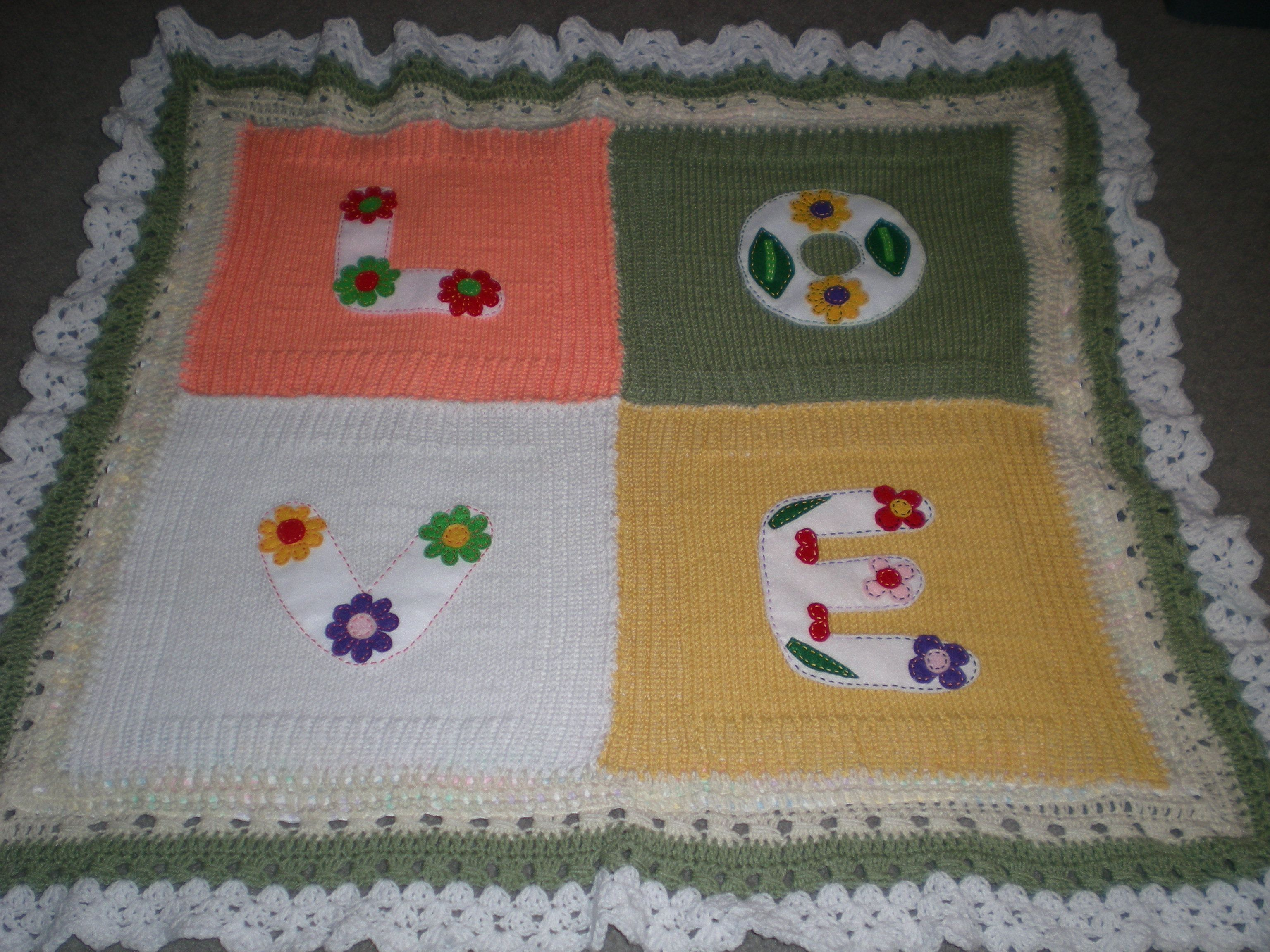 Baby blanket - My knitting