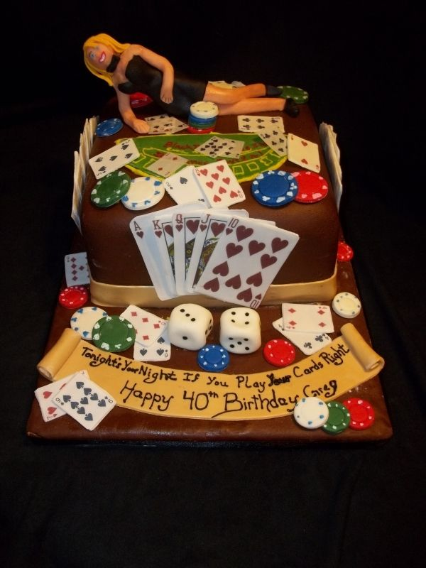 Perfect for the gambling man on the Big 40. Designed by Lschreck.
