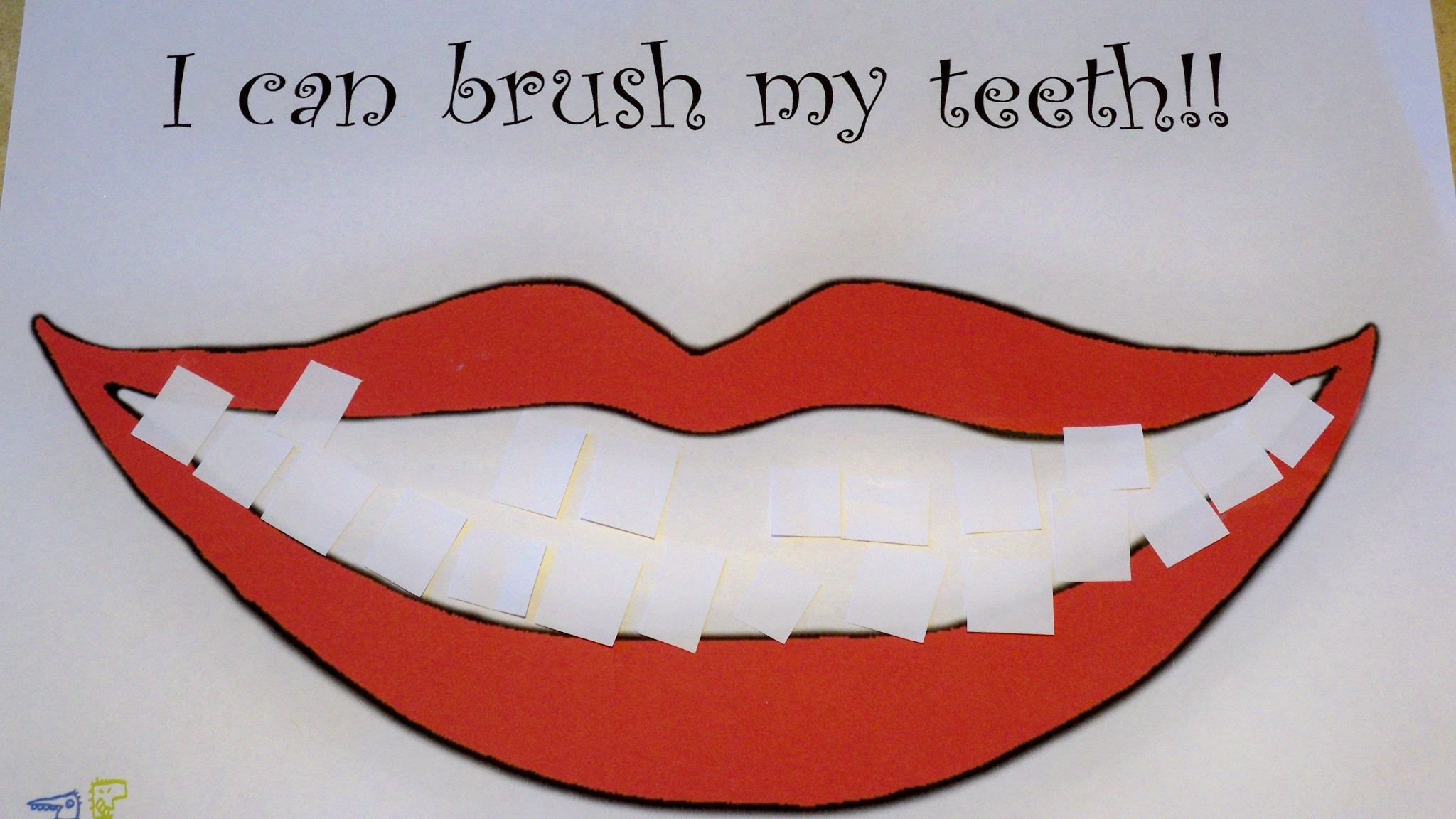 Free Printable Activity For Dental Health Kids Will Love