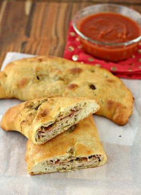 The classic Italian Club made into a delicious Calzone. #DeliFreshBOLD #spon