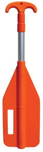 Kwik Tek P-3 Telescoping Paddle With Boat Hook (25-Inches - 72-Inches)