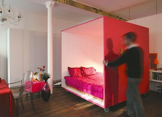 Crafting Private Sleeping Quarters in a Loft: The Bed Cube ...