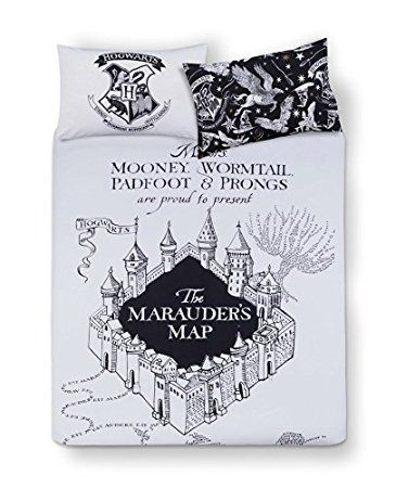 Harry Potter Daily Prophet Bedding Double Duvet Reversible Cover Set Primark