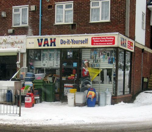 Vah do it yourself shop in berkhamsted home town and surrounding vah do it yourself shop in berkhamsted solutioingenieria Gallery