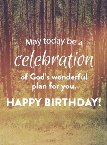 Bible Birthday Wishes For Daughter This Amazing Spiritual Card ReadsMay Today Be A Celebration Of Gods Wonderful Plan You Happy