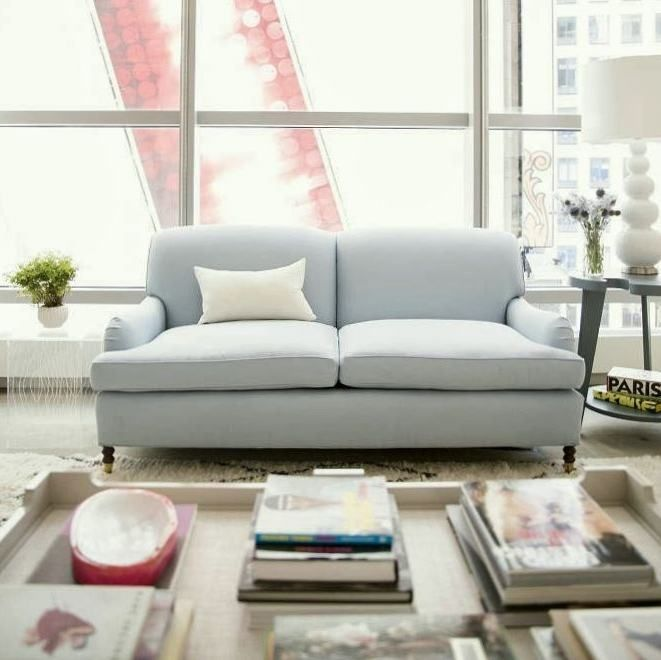 The Best Sofa To Buy For The Home Light Blue Sofa