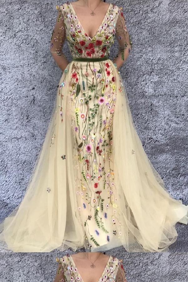 Hot Sale Magnificent Mermaid Prom Dresses, 2019 Prom ...