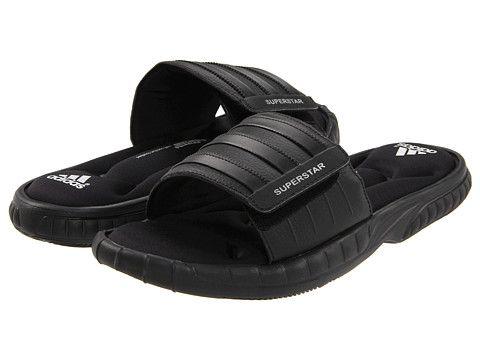 (*4*) Adidas Superstar 3G Slide White/Black/Black - Zappos