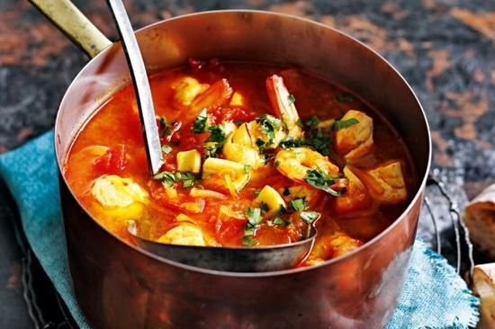 Slow Cooker Spanish Fish Soup