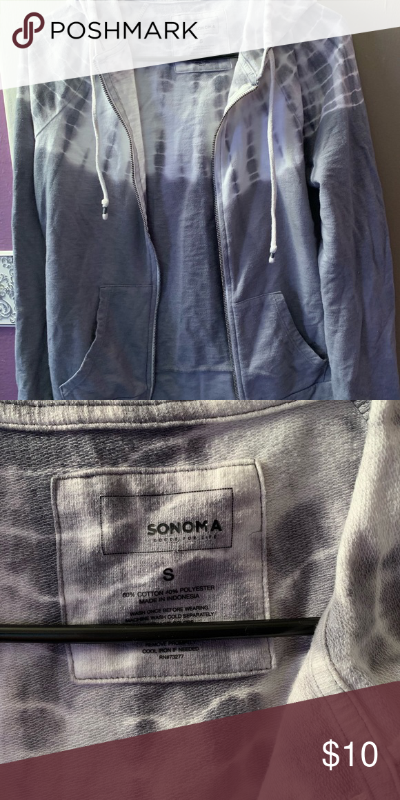Sonoma ~ Zip Up sweater
