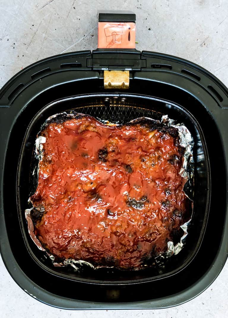 This Classic Meatloaf recipe is upgraded to an awesome Air