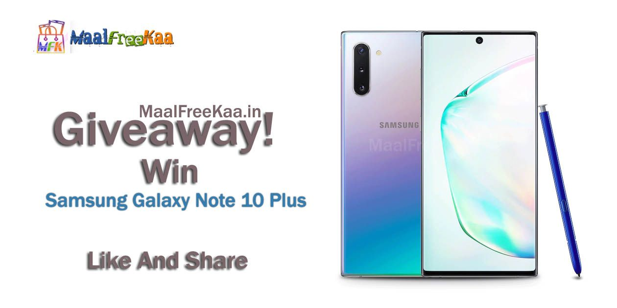 Giveaway Win Samsung Galaxy Note 10 Plus