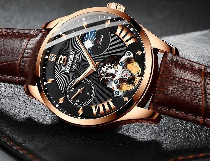 Order Our Jorge Men S Luxury Mechanical Skeleton Watch Now 100