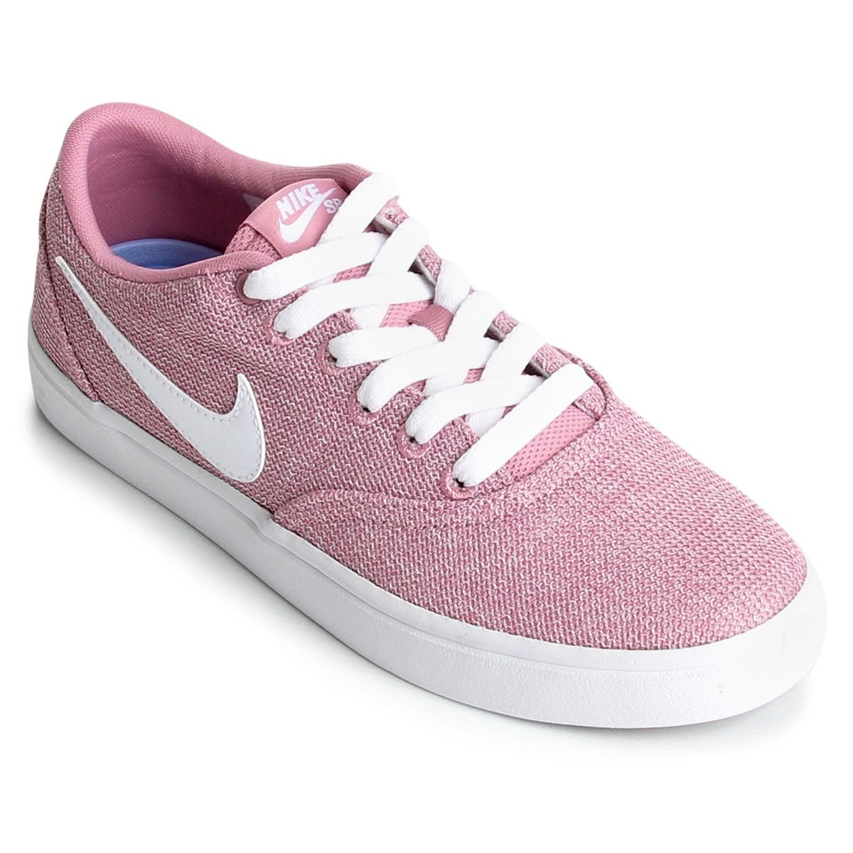 df0990b34a1 Tênis Nike Wmns Sb Check Solar Cvs P Feminino - Preto e Rosa ...