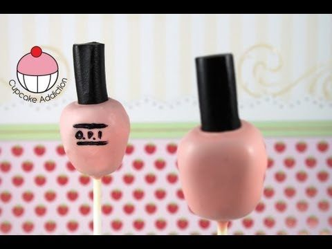 ▶ Cakepops! Make a Nail Polish Bottle Cake Pop - A Cupcake Addiction How To Tutorial - YouTube