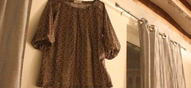 La blouse safari