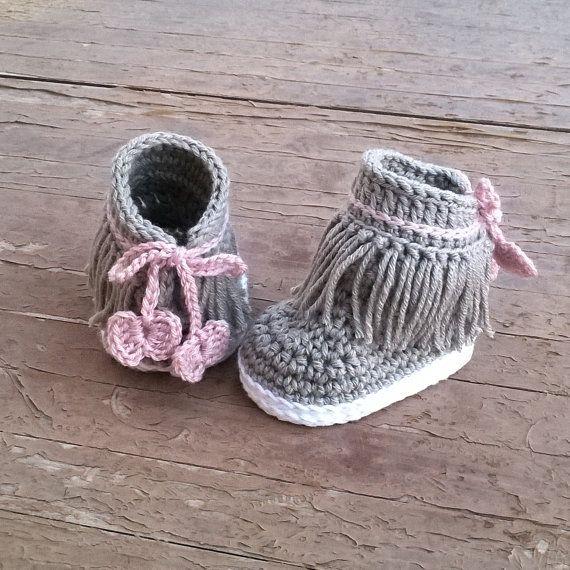 Crochet PATTERN. Dakota baby sneakers   Patrones de crochet ...