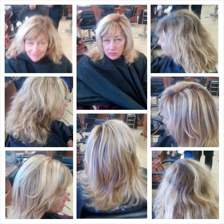 Highlights and color retouch.