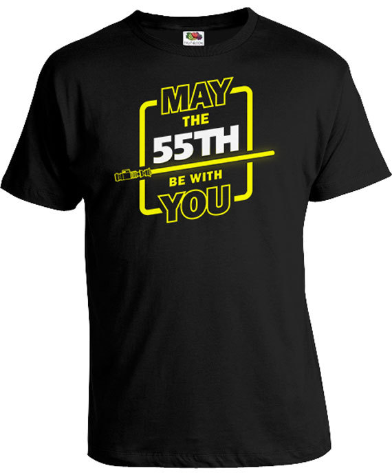 Funny Birthday Gift Ideas For Men 55th Shirt Geek T Nerd Gifts Custom Age May The 55t