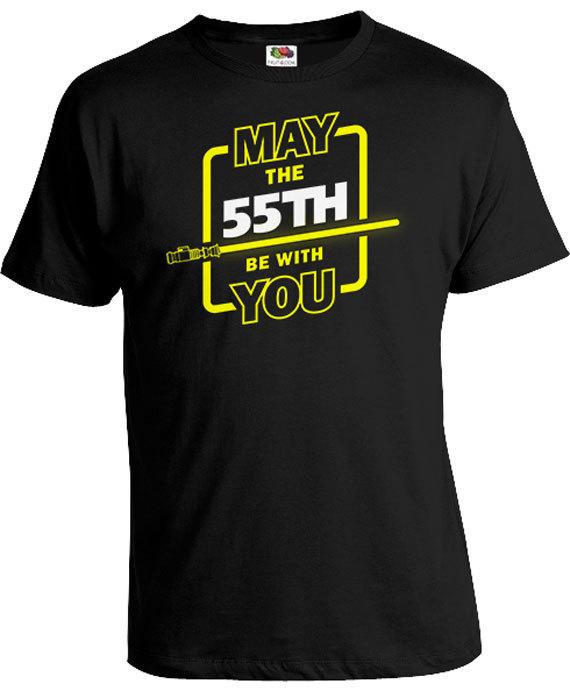 Funny Birthday Gift Ideas For Men 55th Shirt Geek T Nerd Gifts Custom Age