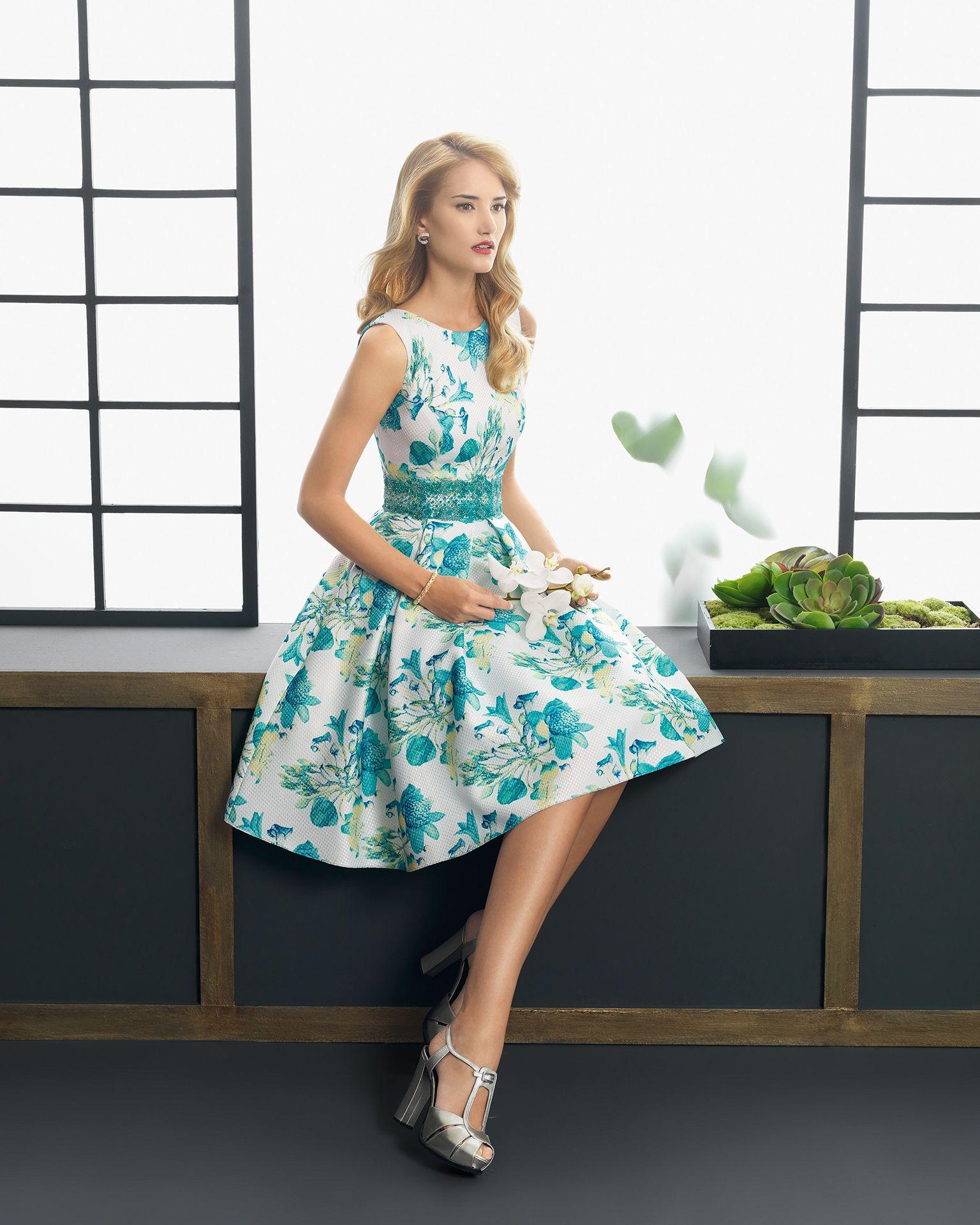 Vestidos estampados: Topos, rayas o flores | vestidos | Pinterest ...