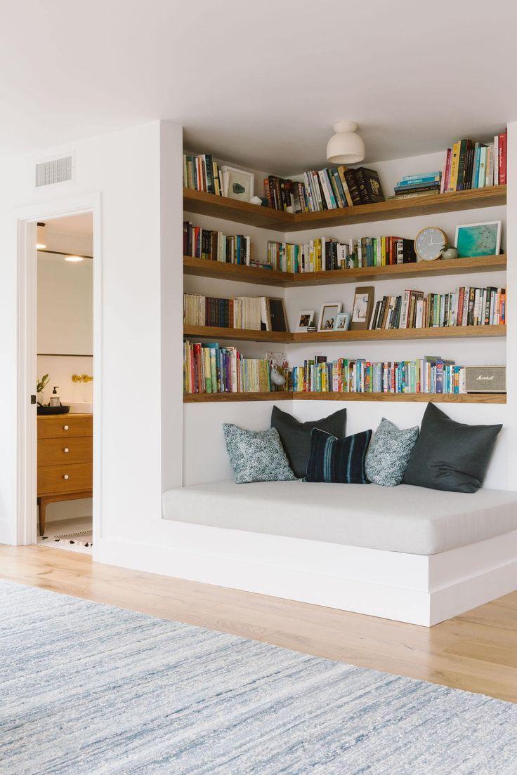Hausinnenraum: Samantha Gluck Emily Henderson Playroom Reading Co #houseinspiration