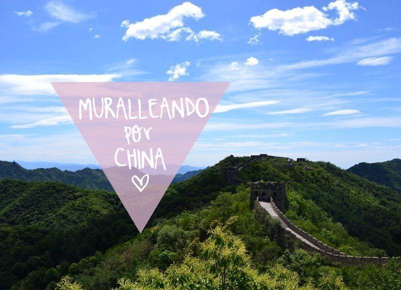 MURALLEANDO POR ASIA, BUENO POR CHINA!