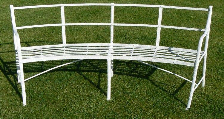 16 Adorable Curved Metal Garden Bench Ideas Metal Garden Benches