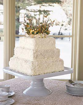 Weddings Showerore Coconut Wedding Cake