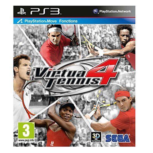 Baisse De Prix Virtua Tennis 4 Jeu Ps Move Ps3 A 24 71 45 Playstation Wii Video Games Video Games Playstation