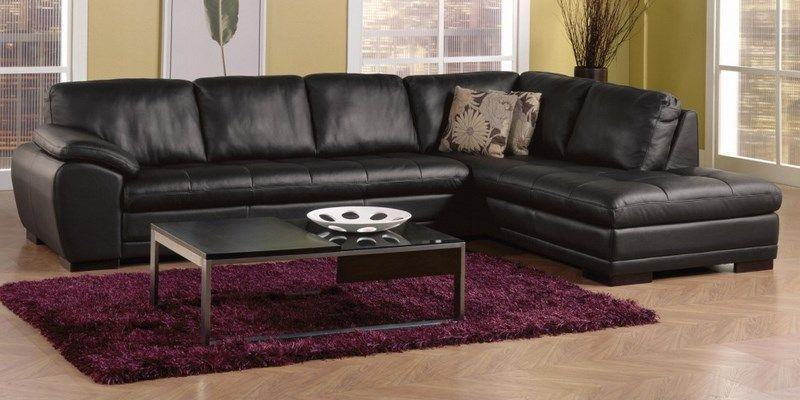 Miami Contemporary 2 Piece Sectional Sofa With Left Facing Chaise By Palliser