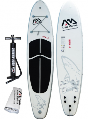 Aqua Marina Inflatable 12 6 Thick Sup Stand Up Paddle Board With Pump For Paddlers Who Are On The Go And Need A Standup Paddle Paddle Boarding Aqua Marina