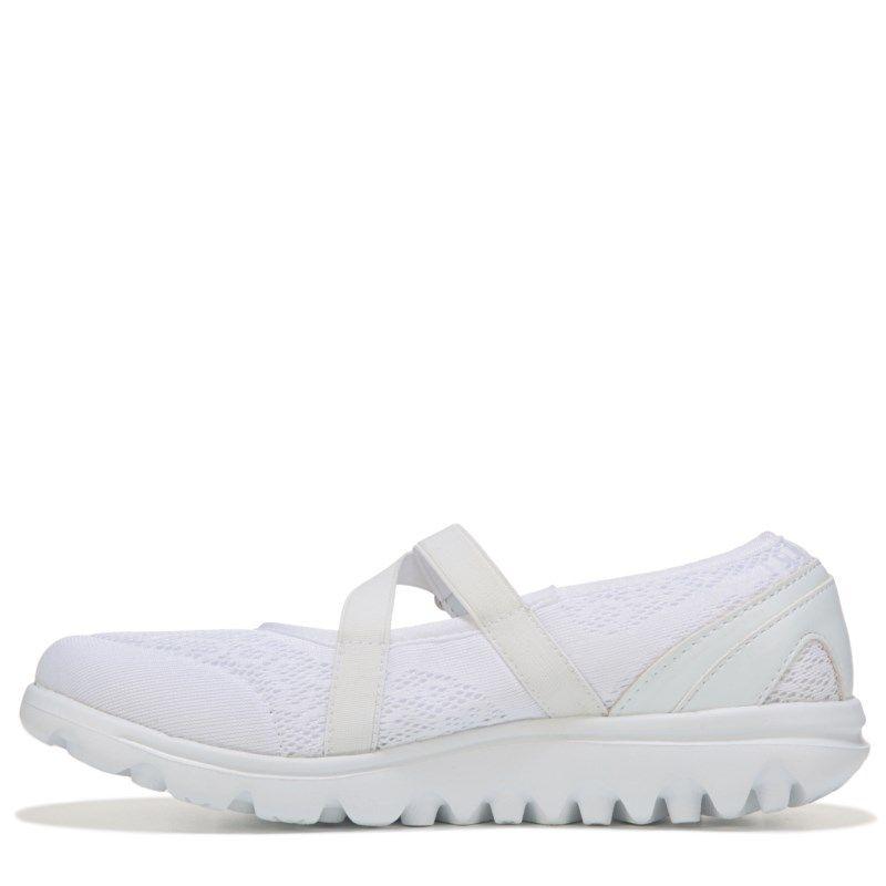 b22589f63d77 Propet Women s Travelactiv Narrow Medium Wide Mary Jane Shoes (White) -  11.0 2E