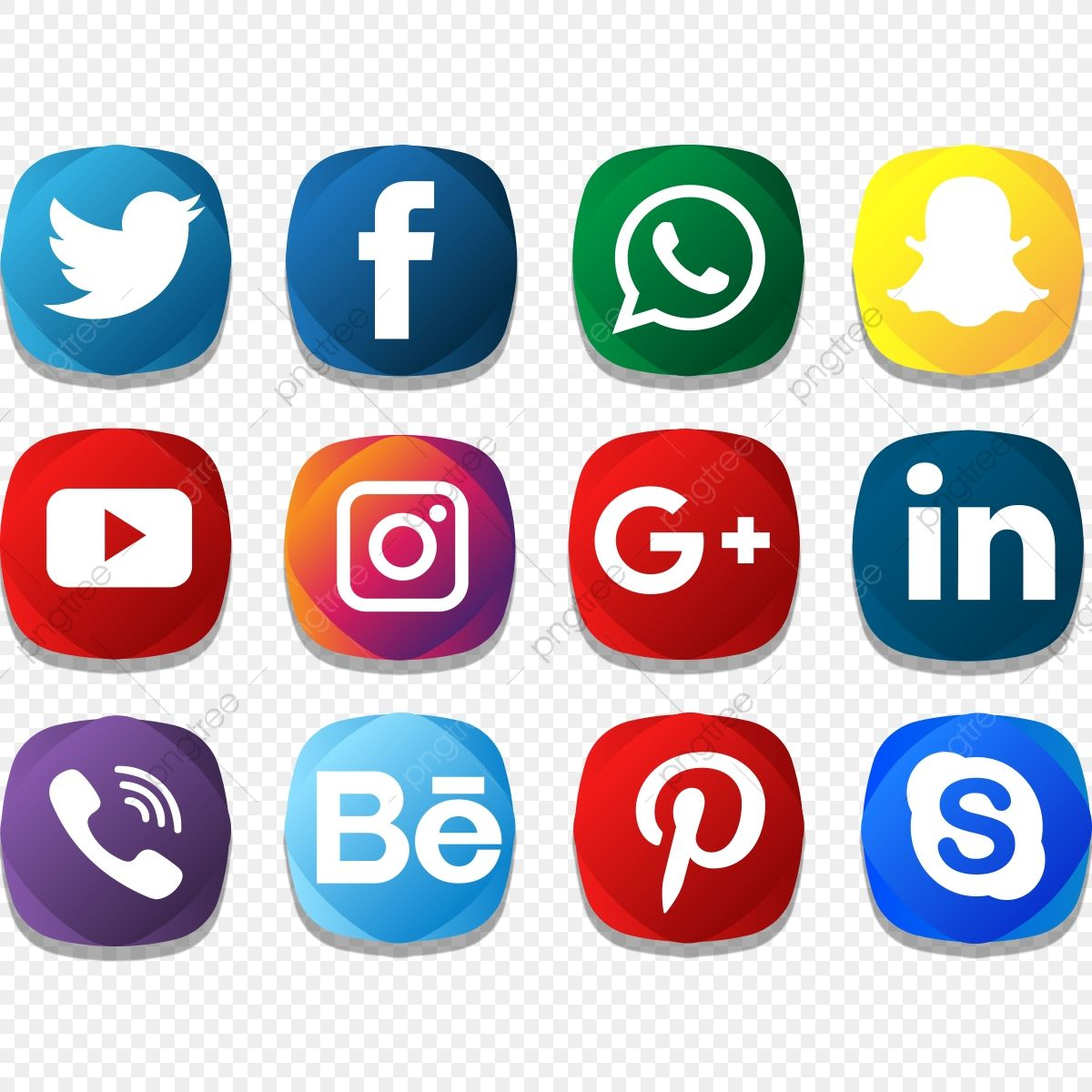 Social Icon Creative Color Pack Social Media Clipart Social Media Icons Social Media Png And Vector With Transparent Background For Free Download Social Icons Social Media Icons Social Media Logos
