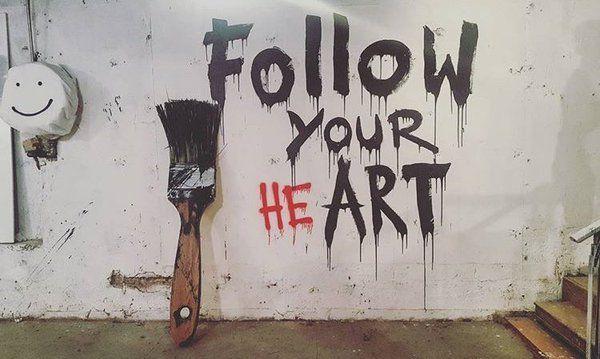 Street Art on in 2020 Street art quotes, Mr brainwash