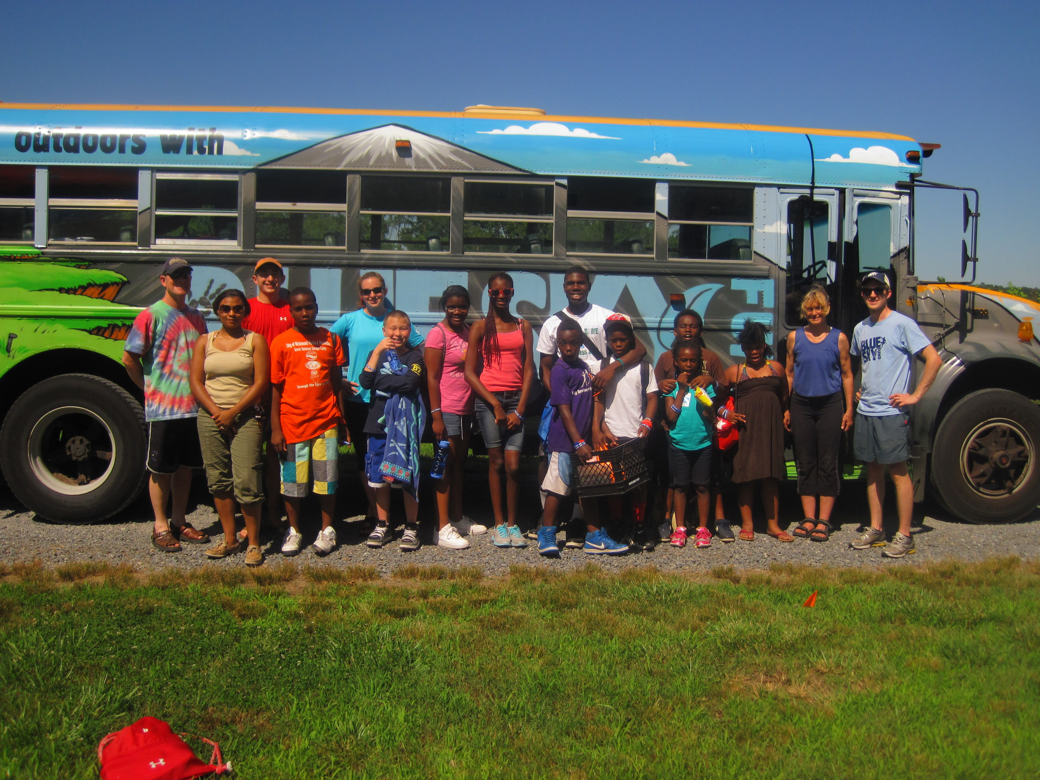 The ACA Coordinated a Kayak Fishing Event for Richmond Youth this past weekend! The event was fun for everyone!