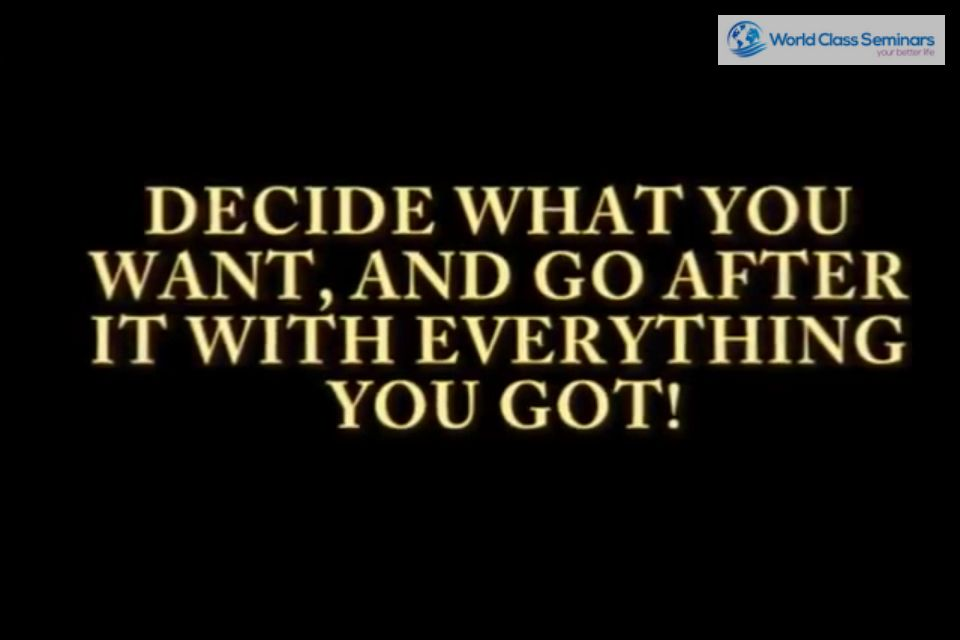 The decision to change is always the most difficult, but put your energy to work and become unstoppable!