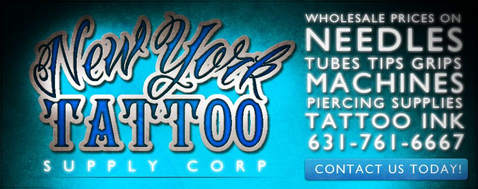 Discount tattoo supplies and equipment from new york