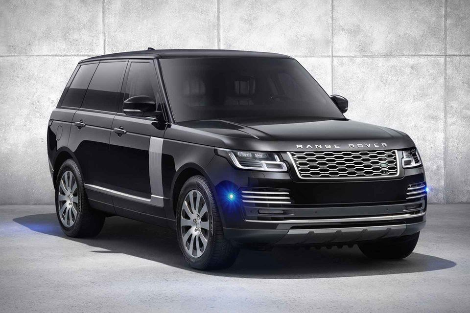 2020 Range Rover Sentinel Armored SUV Land rover, Range